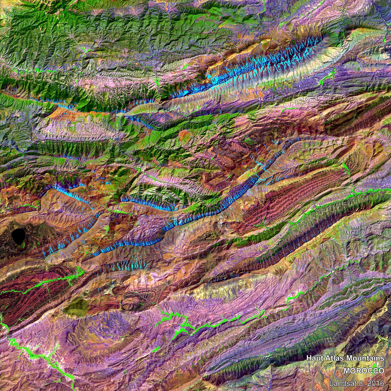 Haut-Atlas-Mountain